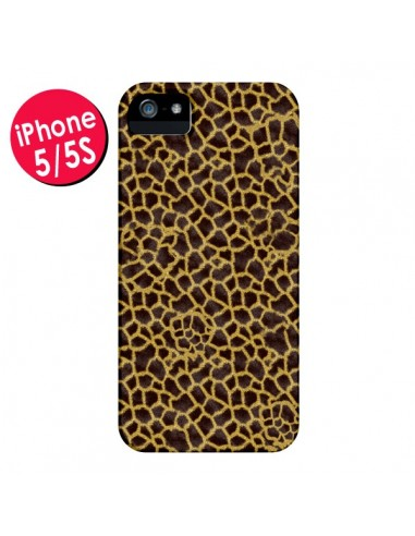 Coque Girafe pour iPhone 5 et 5S - Maximilian San