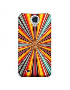 Coque Horizon Bandes Multicolores pour Samsung Galaxy S4 - Maximilian San