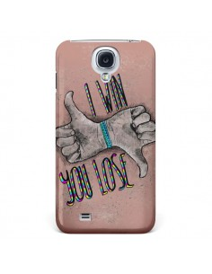Coque I win You lose pour Samsung Galaxy S4 - Maximilian San