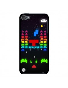 Coque Invatris Space Invaders Tetris Jeu pour iPod Touch 5 - Maximilian San