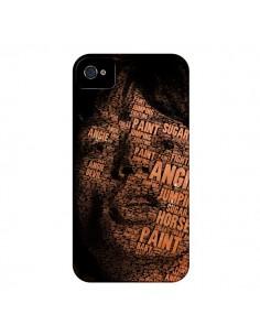 Coque Mick Jagger pour iPhone 4 et 4S - Maximilian San