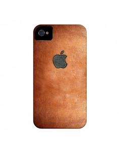 Coque Style Cuir pour iPhone 4 et 4S - Maximilian San
