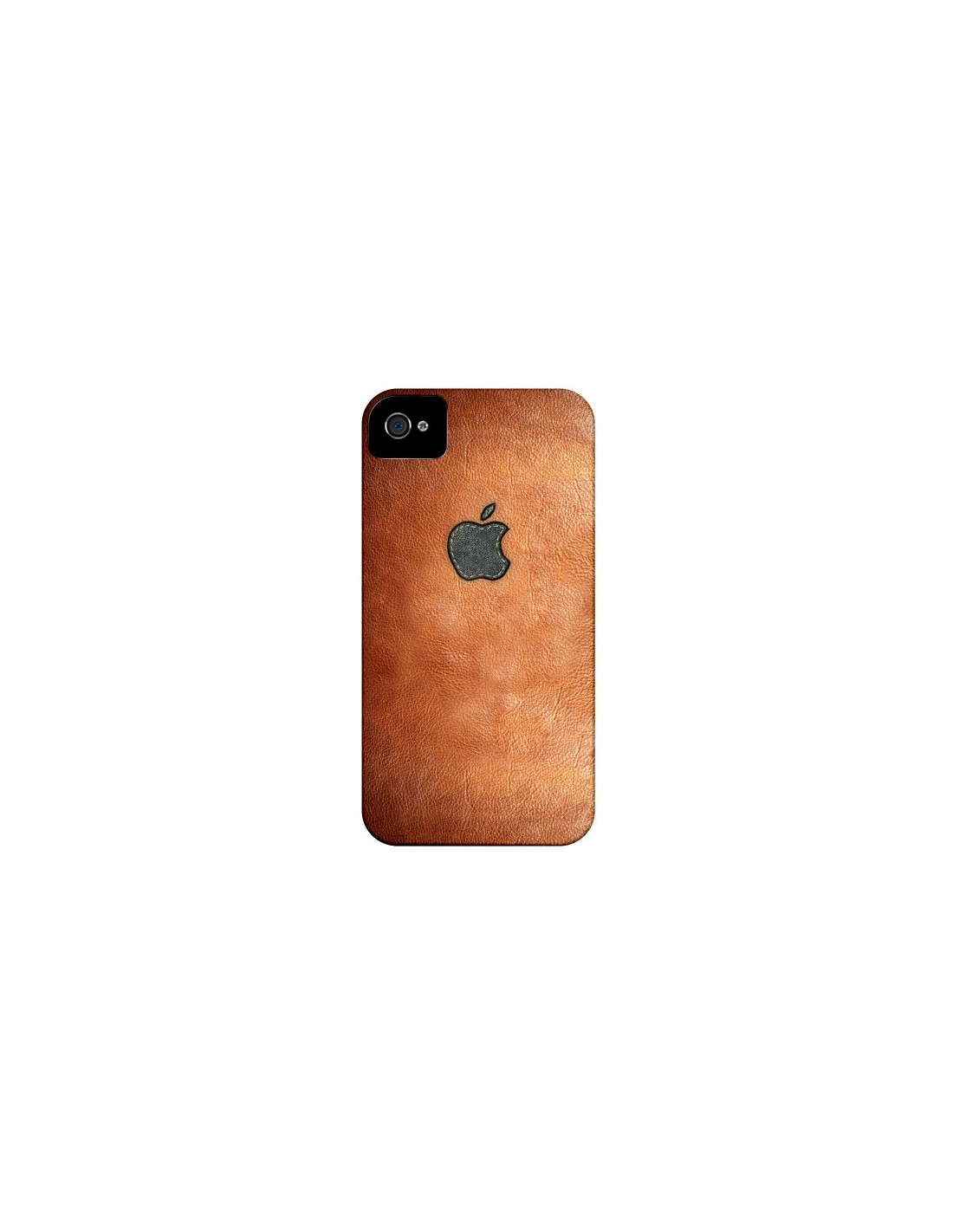 Coque iPhone 4 et 4S Style Cuir - Maximilian San