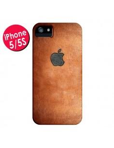 Coque Style Cuir pour iPhone 5 et 5S - Maximilian San