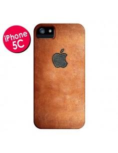 Coque Style Cuir pour iPhone 5C - Maximilian San