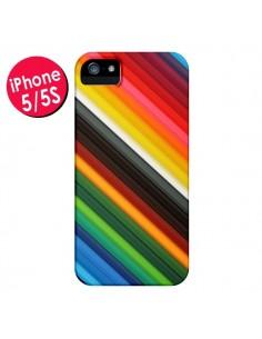 Coque Arc en Ciel Rainbow pour iPhone 5 et 5S - Maximilian San