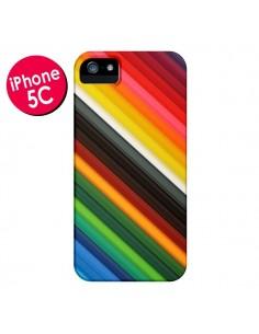 Coque Arc en Ciel Rainbow pour iPhone 5C - Maximilian San