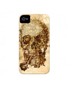 Coque Lord Skull Seigneur Tête de Mort Crane pour iPhone 4 et 4S - Maximilian San