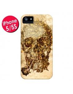 Coque Lord Skull Seigneur Tête de Mort Crane pour iPhone 5 et 5S - Maximilian San