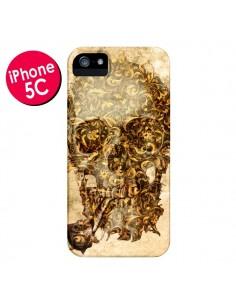 Coque Lord Skull Seigneur Tête de Mort Crane pour iPhone 5C - Maximilian San