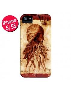 Coque Octopu Skull Poulpe Tête de Mort pour iPhone 5 et 5S - Maximilian San
