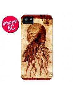 Coque Octopu Skull Poulpe Tête de Mort pour iPhone 5C - Maximilian San