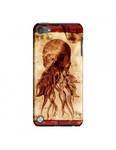 Coque Octopu Skull Poulpe Tête de Mort pour iPod Touch 5 - Maximilian San