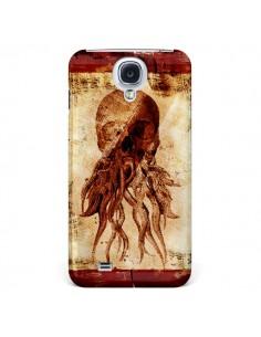 Coque Octopu Skull Poulpe Tête de Mort pour Samsung Galaxy S4 - Maximilian San