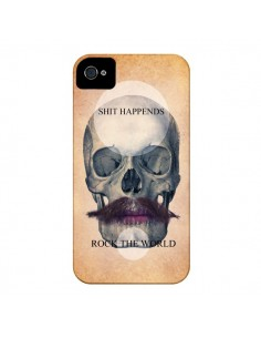 Coque Rock Skull Tête de Mort pour iPhone 4 et 4S - Maximilian San