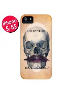 Coque Rock Skull Tête de Mort pour iPhone 5 et 5S - Maximilian San