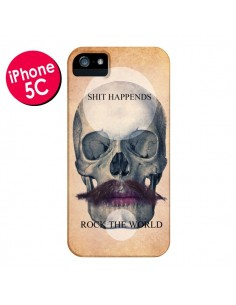 Coque Rock Skull Tête de Mort pour iPhone 5C - Maximilian San