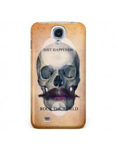 Coque Rock Skull Tête de Mort pour Samsung Galaxy S4 - Maximilian San
