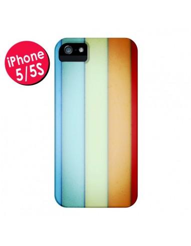 Coque Lignes Verticales Geometric pour iPhone 5 et 5S - Maximilian San