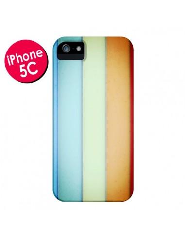Coque Lignes Verticales Geometric pour iPhone 5C - Maximilian San