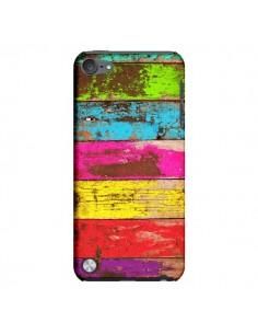 Coque Bois Coloré Vintage pour iPod Touch 5 - Maximilian San