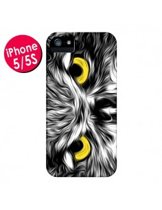 Coque The Sudden Awakening of Nature Chouette pour iPhone 5 et 5S - Maximilian San