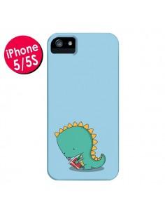Coque Dinosaure pour iPhone 5 et 5S - Jonathan Perez