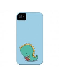 Coque Dinosaure pour iPhone 4 et 4S - Jonathan Perez
