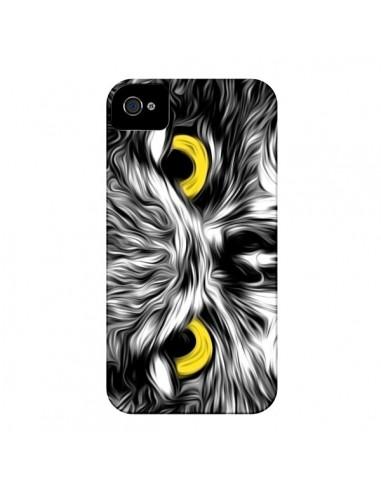 Coque The Sudden Awakening of Nature Chouette pour iPhone 4 et 4S - Maximilian San