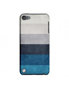 Coque Bandes Horizontales Greece Hues pour iPod Touch 5 - Maximilian San
