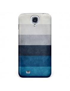 Coque Bandes Horizontales Greece Hues pour Samsung Galaxy S4 - Maximilian San