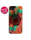 Coque Tournesol Lysergic Flower pour iPhone 5 et 5S - Maximilian San
