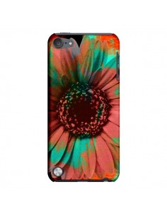 Coque Tournesol Lysergic Flower pour iPod Touch 5 - Maximilian San