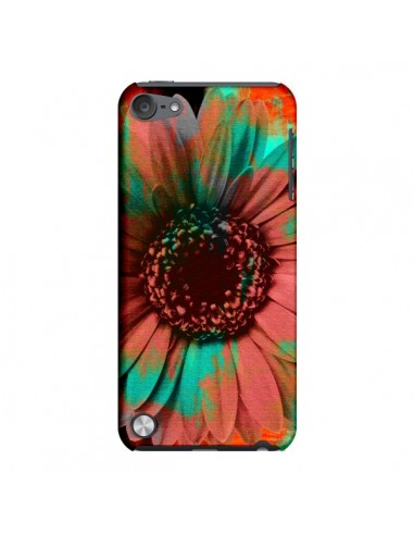 Coque Tournesol Lysergic Flower pour iPod Touch 5 - Maximilian San