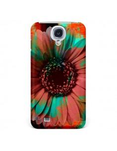 Coque Tournesol Lysergic Flower pour Samsung Galaxy S4 - Maximilian San