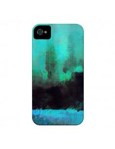 Coque Paysage Lysergic Horizon pour iPhone 4 et 4S - Maximilian San