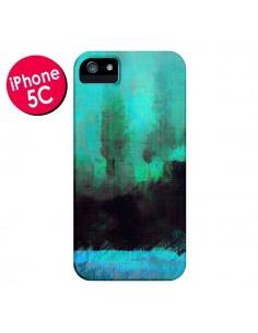 Coque Paysage Lysergic Horizon pour iPhone 5C - Maximilian San