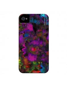 Coque Fleurs Lysergic Lujan pour iPhone 4 et 4S - Maximilian San