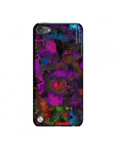 Coque Fleurs Lysergic Lujan pour iPod Touch 5 - Maximilian San
