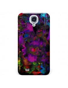 Coque Fleurs Lysergic Lujan pour Samsung Galaxy S4 - Maximilian San