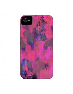 Coque Fleurs Rose Lysergic Pink pour iPhone 4 et 4S - Maximilian San