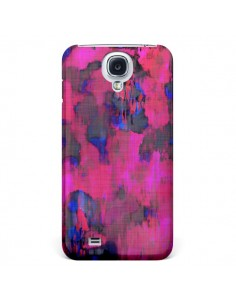 Coque Fleurs Rose Lysergic Pink pour Samsung Galaxy S4 - Maximilian San