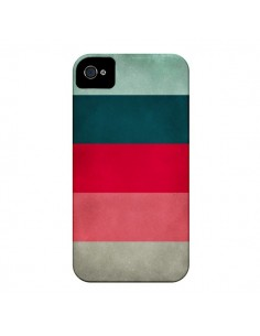 Coque Bandes New York City Hues pour iPhone 4 et 4S - Maximilian San