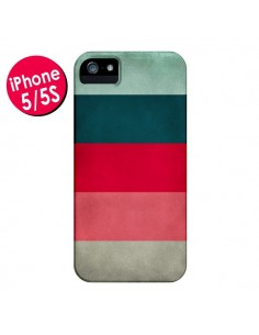 Coque Bandes New York City Hues pour iPhone 5 et 5S - Maximilian San