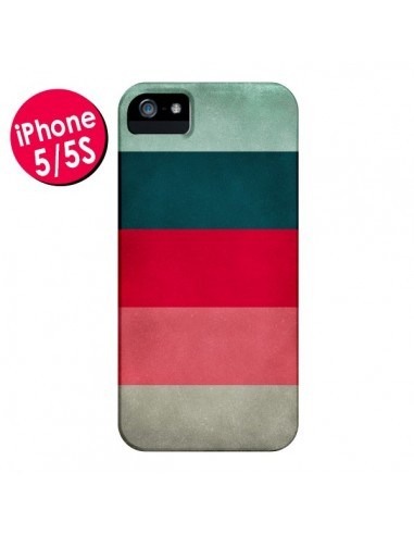 Coque Bandes New York City Hues pour iPhone 5 et 5S - Maximilian San