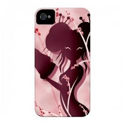 Coque Femme Asiatique Akiko pour iPhone 4 et 4S - LouJah