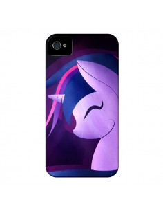 Coque I Love Unicorn Licorne pour iPhone 4 et 4S - LouJah