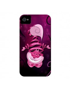 Coque Chat du Cheshire Ribbon Cat pour iPhone 4 et 4S - LouJah