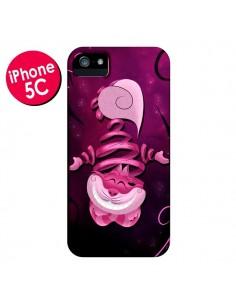 Coque Chat du Cheshire Ribbon Cat pour iPhone 5C - LouJah
