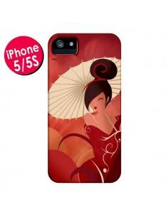 Coque Sakura Asian Geisha pour iPhone 5 et 5S - LouJah